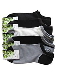 Bamboo fibre de carbone Chaussettes de sport pour hommes (couleur aléatoire, One-Size EUR39-44)