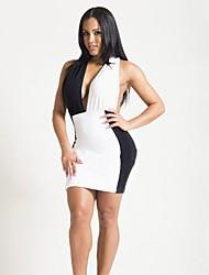 Venta Slim Fit caliente atractiva de las mujeres del vestido del vendaje