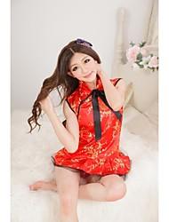 Belle Ultra sexy rouge mignon Imprimer de la femme Robe Robes Gdes