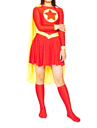 Superman: The Man of Tomorrow Superwoman Cosplay Kostuum