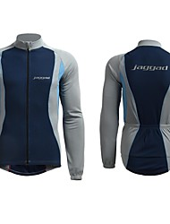 Jaggad Men's Long Sleeve Polyester Spandex  Spring Autumn Cycling Jersey