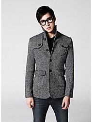 Men's Lapel Stylish Button Jacket