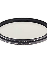 Filtre Zomei Professional Camera Super mince ND-Filter HD verre (67mm)