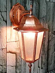 Outdoor Wall Lights , Traditional/Classic E26/E27 Metal