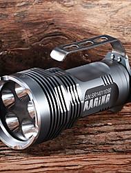 Linternas y Lámparas de Camping LED 5 Modo 4500 Lumens A Prueba de Agua / Recargable / autodefensa Cree XM-L T6 18650.0Múltiples