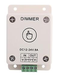 Светодиодный контроллер Led сенсорным Диммер Описание Светодиодные полосы / лампы (DC 12-24V 8A)
