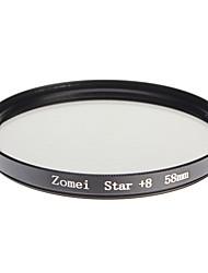 Zomei Kamera professionelle optische Rahmen Sterne 8 Filter (58 mm)