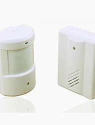 Wireless Motion Sensor Detector Alarm Infrared Alert System for Driveway Patrol Garage 400 ft