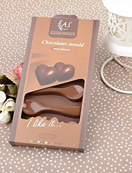 22CM*11.2CM*2M Color Box Environmental Silicone Spoon Shaped  Cake/Chocolate Mould