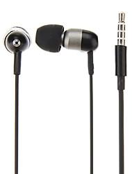 awei Q8i metalen in-ear hoofdtelefoon met microfoon (3 maten oordopjes) voor iphone6 / iphone6 plus