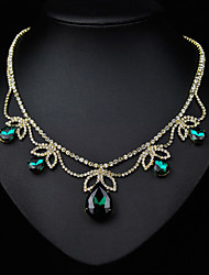 Tango Fashion Jewelry Necklace(Blue,GreenNZ0040)