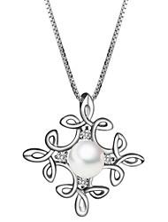 925 Silver Pearl Première Collier rêve des femmes