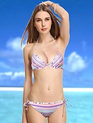 Mujeres VBM Bandeau bikini traje de baño de la ropa interior más sexy Secret Natación Trajes de Biquini