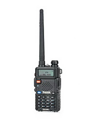 "besttone BST-uv5r LCD da 1,5 ""a due bande doppio display walkie talkie 5w / fm - nero"