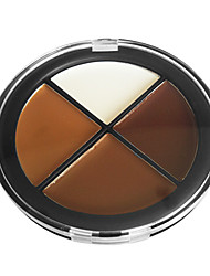 finitura naturale makeup palette concealer n.3 (4 colori)