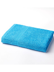 1 PieceCotton Blue Dobby Bath Towel