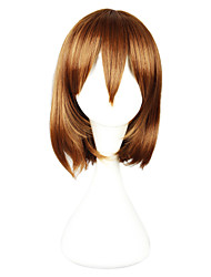 Cosplay Wigs Cosplay Cosplay Brown Short Anime Cosplay Wigs 33 CM Heat Resistant Fiber Female