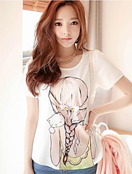 Women's Summer Fashion Beauty T-Shirts