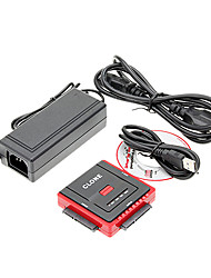 CP-888U2 USB3.0 TO SATA+IDE2.5+IDE3.5 Cable Dual-mode Power Supply Stable High-speed Transmission