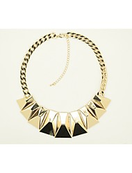 New IDEA Women's Fashion Alloy Necklace NX-3083-GD