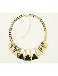 New IDEA Women's Fashion Alloy Necklace NX-3083-GD