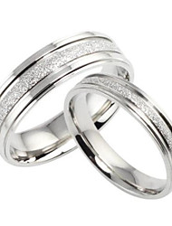 Ring Wedding / Party / Daily / Casual Jewelry Titanium Steel Couples Couple Rings / Midi Rings / Jewelry Tools & Equipment5 / 6 / 7 / 8 /