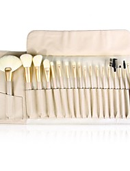 18Pcs Luxury Professional  Makeup Brush Set with Korean Synthetic Hair