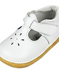 Chaussures bébé - Blanc - Habillé / Décontracté - Cuir - Plates