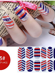 DF COLOR Manicura Suministros Nail Sticker Manicura Calcomanías (Z023)