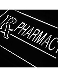 RX Pharmacy Drug Stores Shops Neon Light Sign