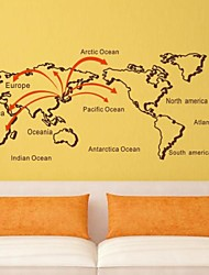 Naturaleza muerta: El Mapa Del Mundo pegatinas de pared