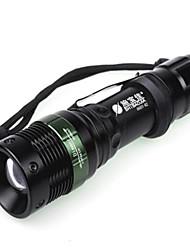 Lampes Torches LED / Lampes de poche LED 3 Mode 300 LumensFaisceau Ajustable / Etanche / Rechargeable / Résistant aux impacts / Surface