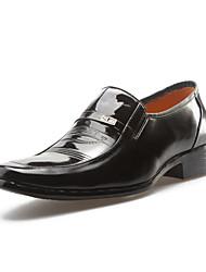 Zapatos de Hombre Mocasines Boda / Oficina y Trabajo / Vestido / Fiesta y Noche Cuero Sintético Negro
