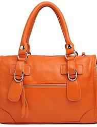 Women's New Style  Fasion OL Design Ladies Cowhide  Handbag