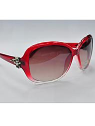 Chloe moda al aire libre Ultravioleta Prueba Sunglass (Rojo)
