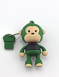 16GB Cartoon Monkey USB 2.0 Flash Drive