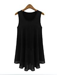 Women's Beige/Black Vest Sleeveless