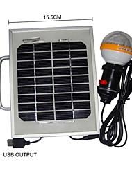 36-LED-Weißlicht 2W Solar Panel Solar-Handy-Ladegerät Beleuchtung tragbare System