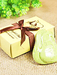 Wedding Gift Mini Pear Soap 32g