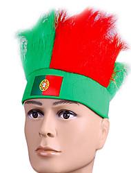 Peça para Cabeça Festival/Celebração Trajes da Noite das Bruxas Vermelho / Verde Bandana Dia Das Bruxas / CarnavalTerylene / Poliéster /