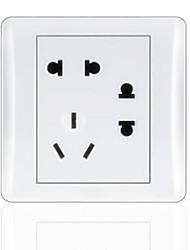 3-Pin Y 2-Pin Doble Socket Plug Durable