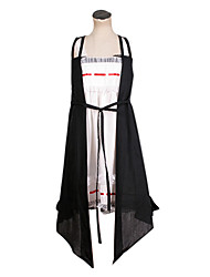 Vocaloid Hatsune Miku Black and White Dress Cosplay Costume
