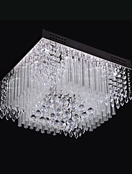 SL® Ceiling Light LED Crystal Luxury Modern Living 16 Lights