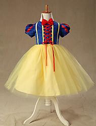 Robe de partie du jour de Halloween Costume Enfants de luxe peu de neige blanc Princesse enfants