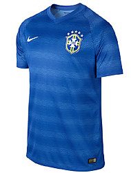 2014 World Cup World Cup Jerseys Brazil Visiting Game Blue (Fans)