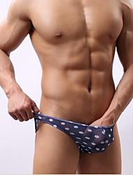 Hombres atractivos transparentes Pantalones de malla de gasa Triángulo