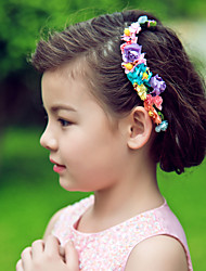Women's Flower Girl's Paper Headpiece-Wedding Special Occasion Headbands Flowers