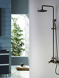 Shower Faucet Antique Rain Shower / Handshower Included Brass Antique Brass