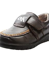 Heel Appartamento ragazzi di cuoio 'Comfort fannulloni Shoes (più colori)