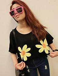 Vrouwen Sun Flower T-shirt